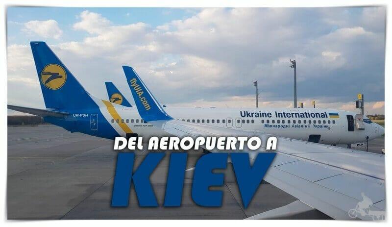 como ir aeropuerto kiev al centro
