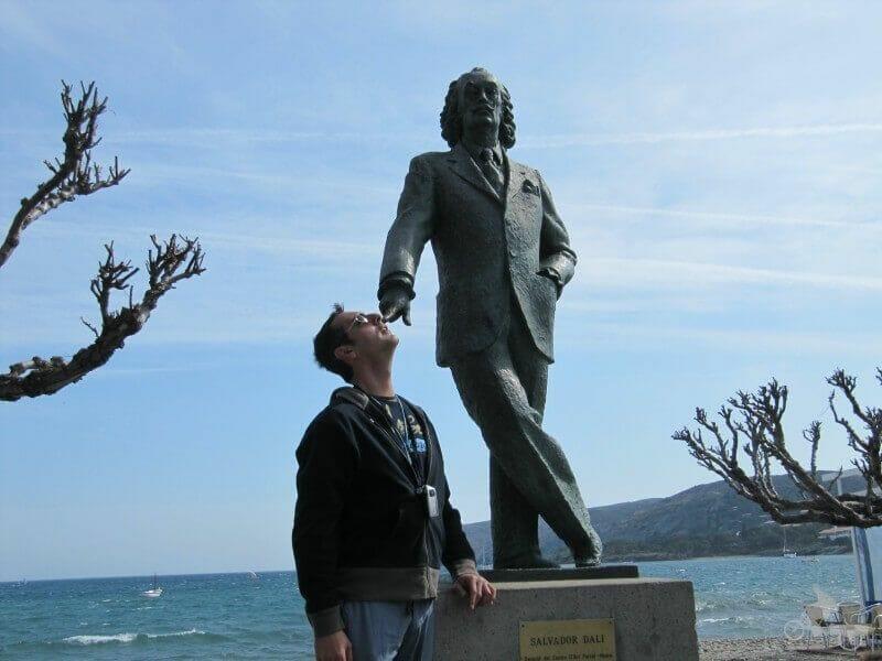 estatua dali cadaques