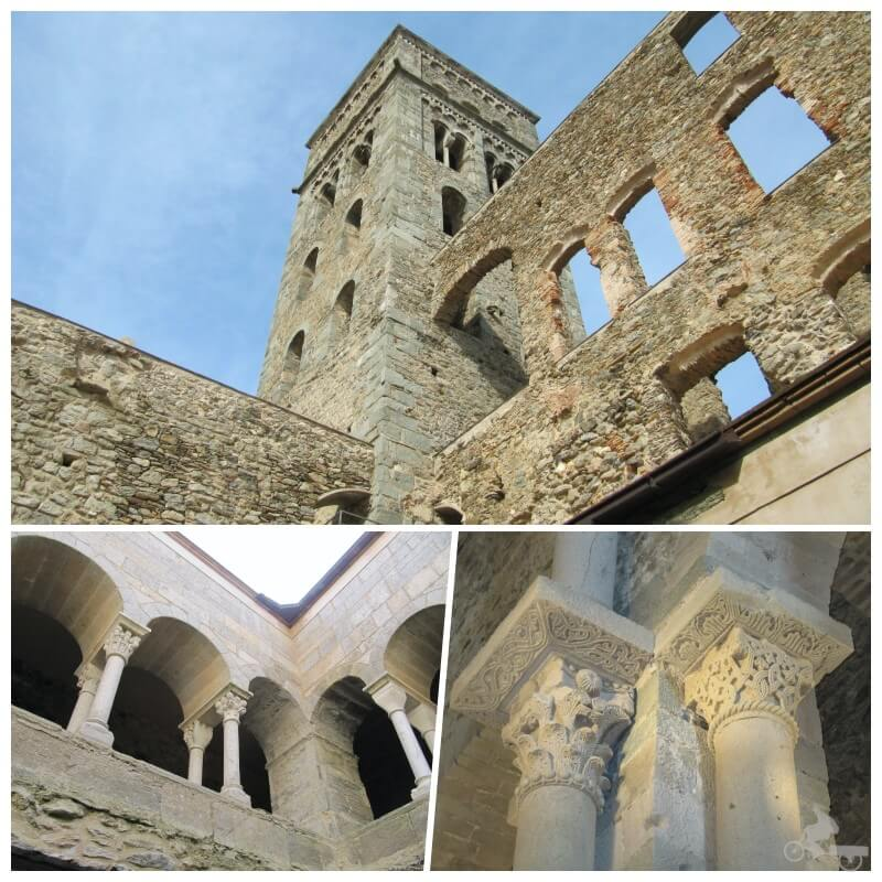 interior iglesia románica cataluña