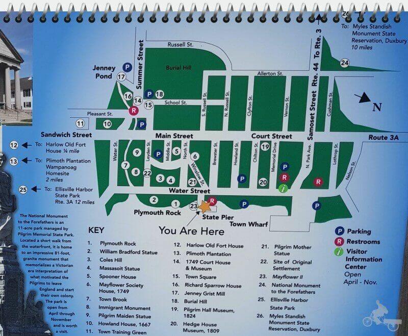mapa que ver en plymouth