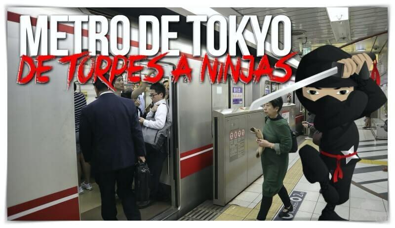 metro de Tokio - cómo moverse
