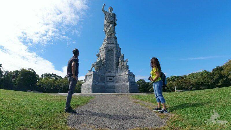 monumento nacional antepasados - plymouth