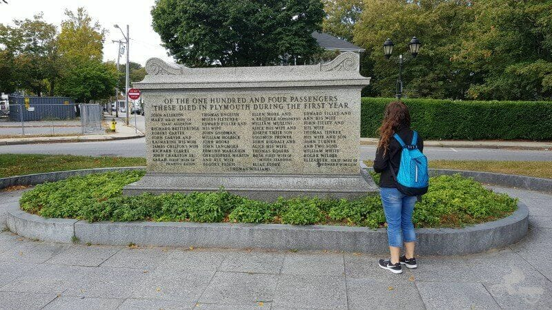 monumento pilgrim -fathers plymouth