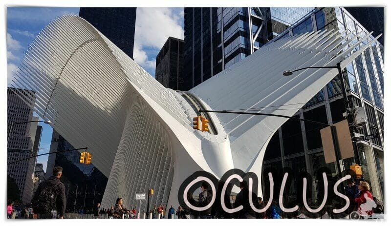 Oculus nueva york estacion tren calatrava