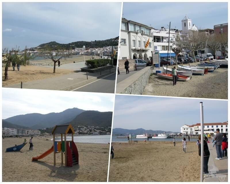 playa del Port de la Selva Girona - ruta cap de creus