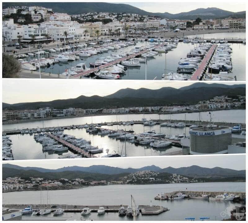 puerto Llança Girona - ruta cap de creus