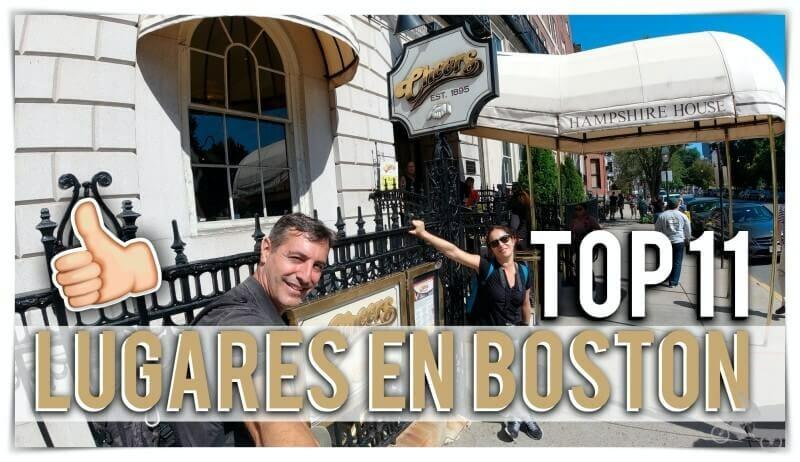 lugares que visitar en Boston