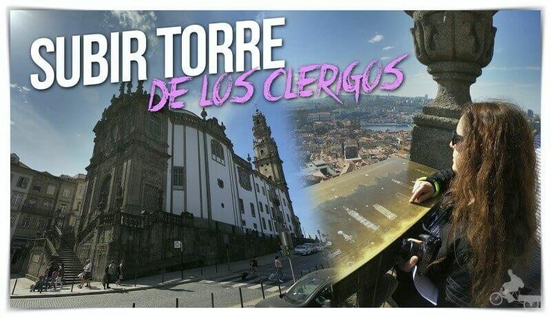 torre de los clérigos en Oporto portugal