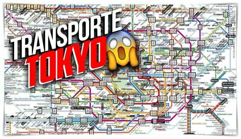 transporte Tokio guia