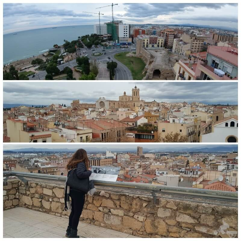 vistas tarragona desde torre pretorio