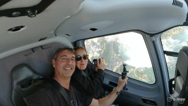 volando sobre niagara falls