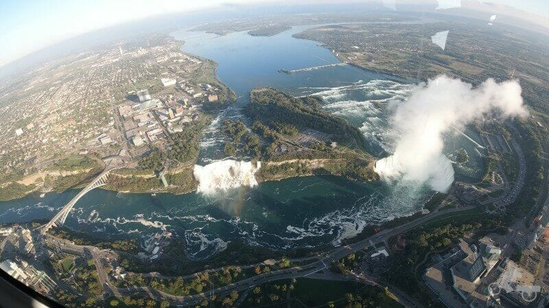 niagara falls desde el aire