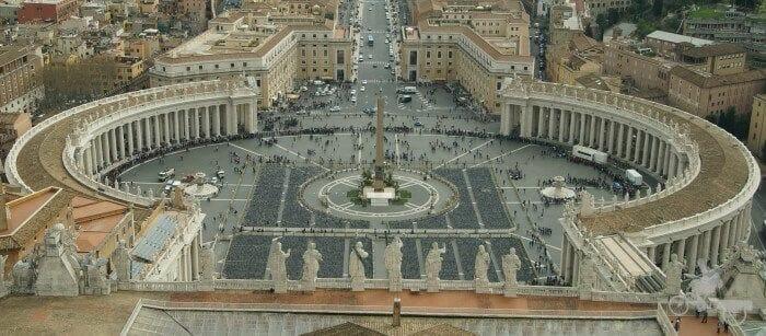 colas para entrar vaticano