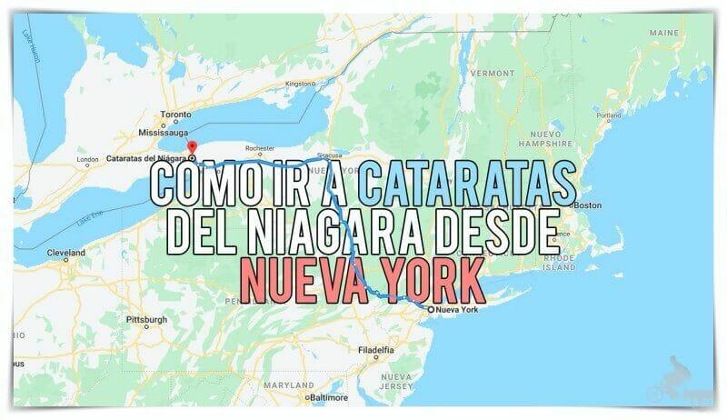 como llegar a cataratas niagara desde nueva york