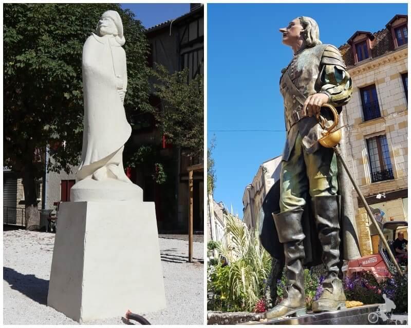 cyrano de bergerac estatua