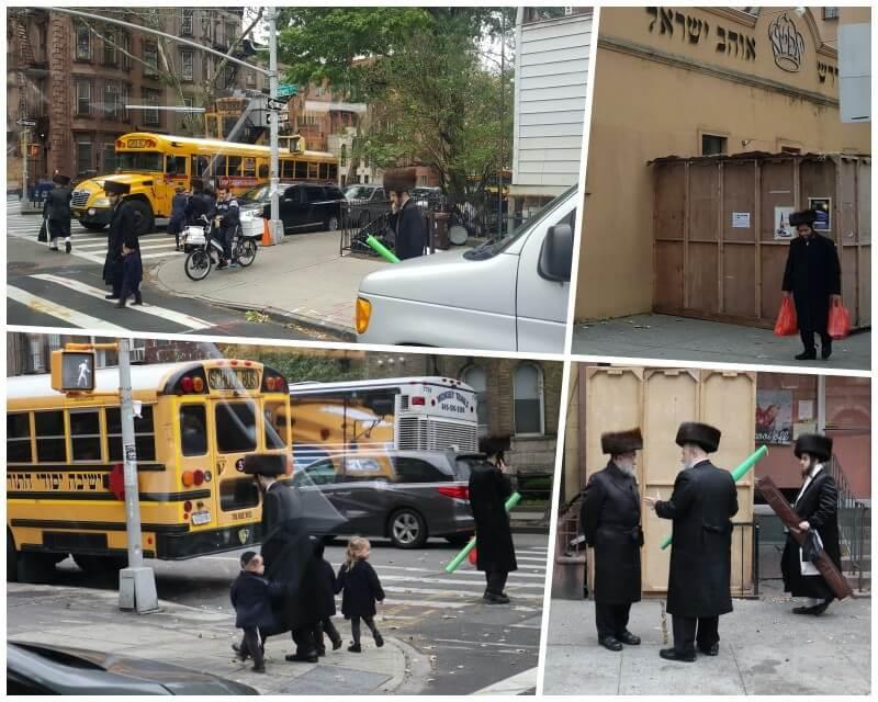 judíos ultraortodoxos jaredíes en NY - Tour contrastes Nueva York