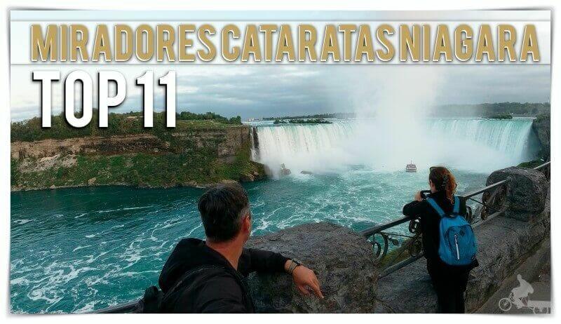 mejores miradores de cataratas del Niágara