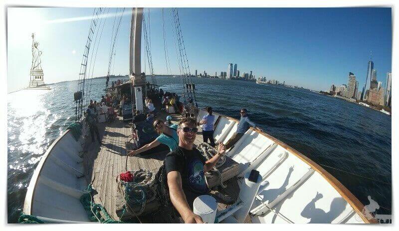 Nueva York en velero