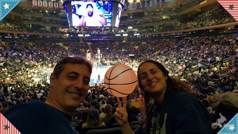 partido nba madison square garden