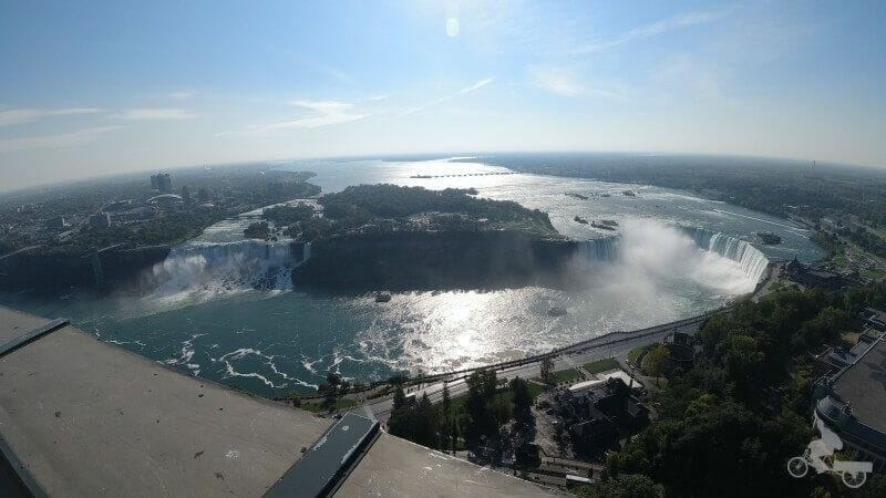 vistas cataratas niagara desde torre skylon