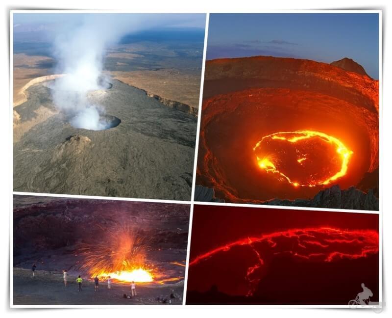volcan erta ale que ver en Etiopía
