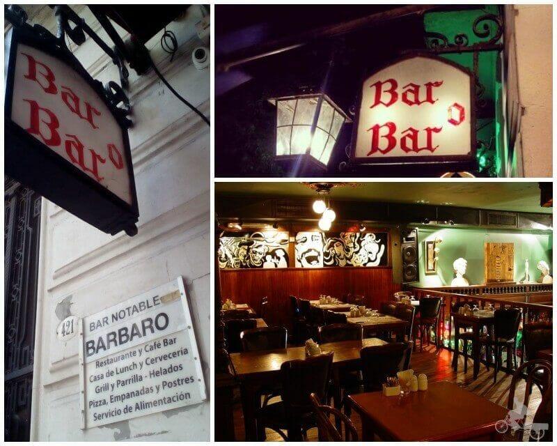 bar baro barbaro bar