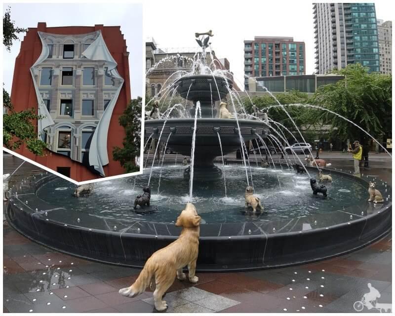 fuente perros - qué ver en Toronto en 2 días
