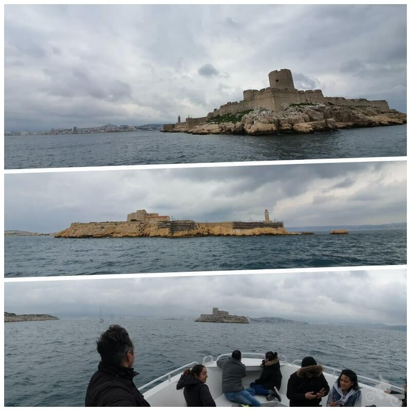 isla de IF desde el mar