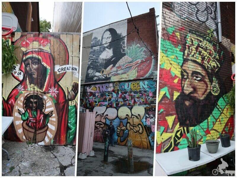 kensington collage - qué ver en Toronto en 2 días