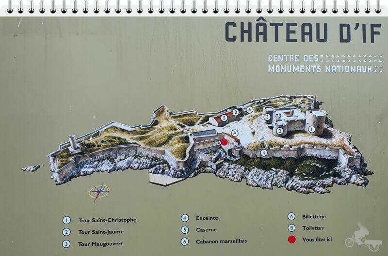 mapa isla de if
