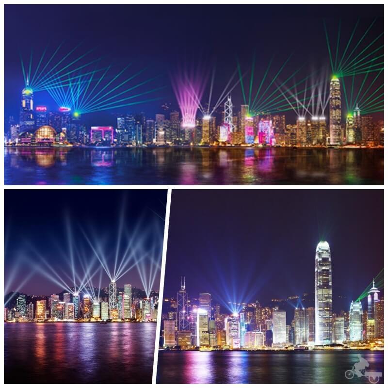 simphony of lights hong kong