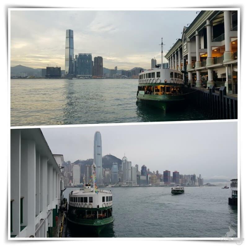 star ferry harbour de hong kong