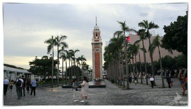 torre reloj hong kong