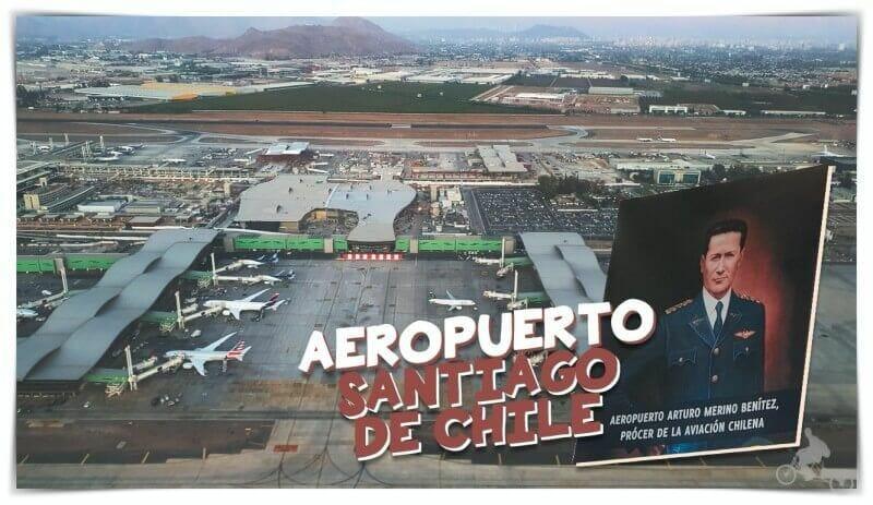 cómo ir del aeropuerto de Santiago al centro