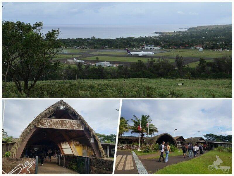 aeropuerto mataveri Visitar Hanga Roa en isla de Pascua