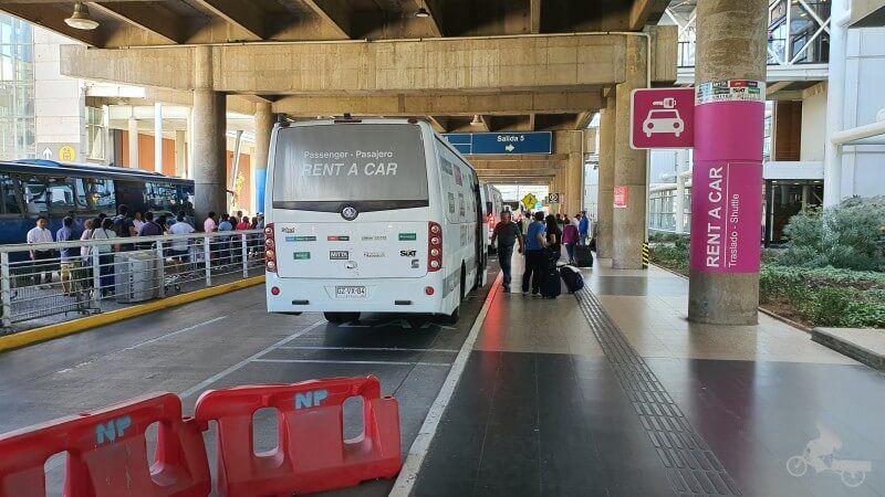 alquiler coches en aeropuerto santiago chile