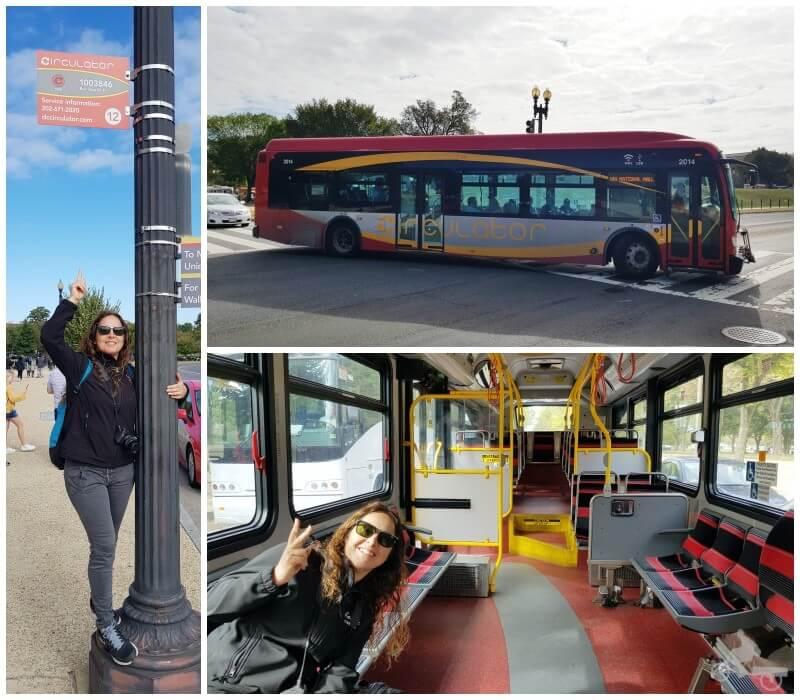 dc circulator bus para ver Washington en un día