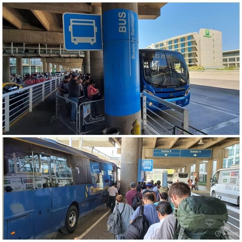 centropuerto aeropuerto santiago chile