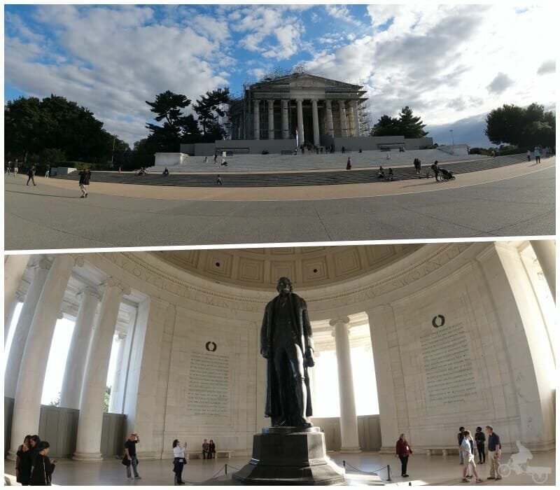 jefferson memorial qué ver en Washington en un día