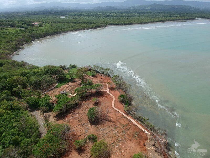 la isabela republica dominicana drone