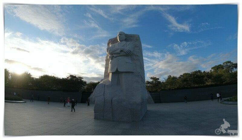 martin luther king memorial qué ver en Washington en un día