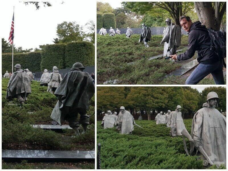 memorial korea qué ver en Washington en un día