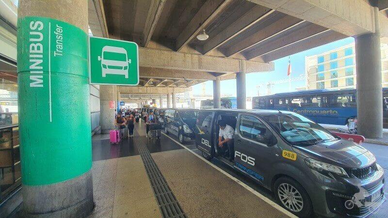 minibuses aeropuerto santiago chile