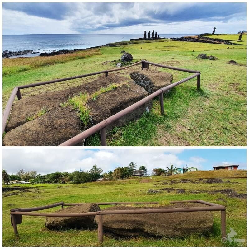 sexto moai de Tahai