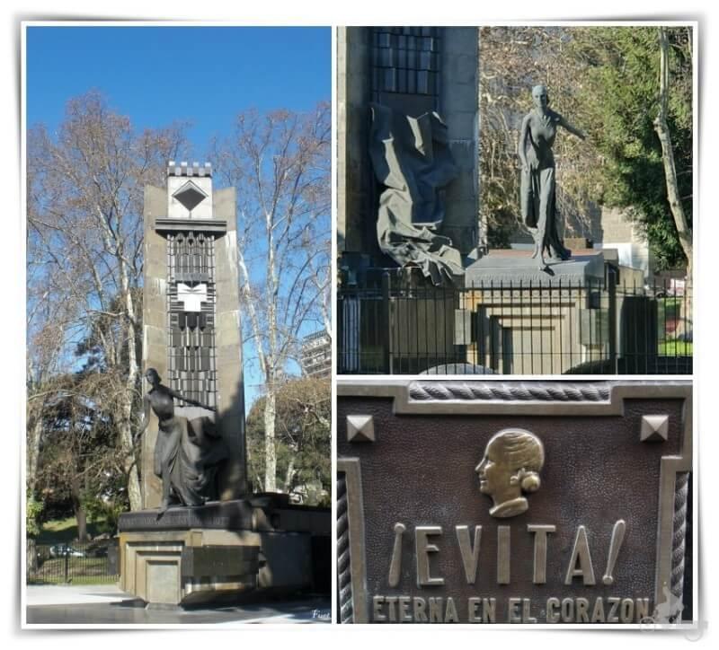 monumento eva peron recoleta