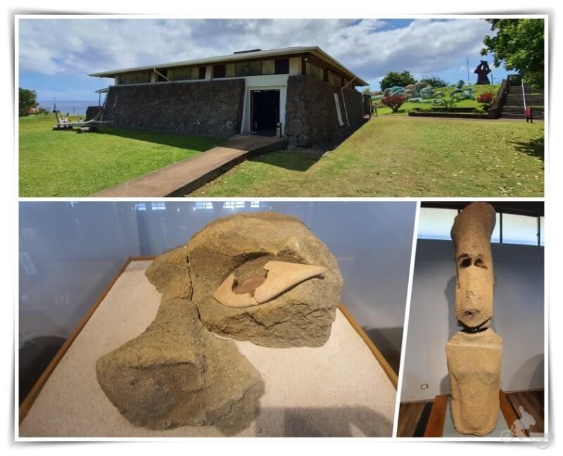 museo rapa nui - cómo ir a isla de Pascua