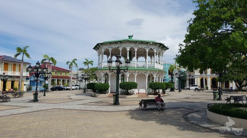 parque central de Puerto Plata