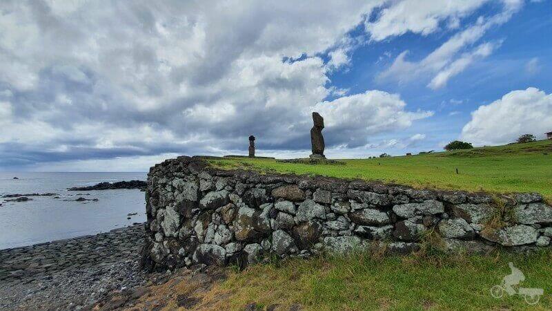 rampa acceso a mar en tahai