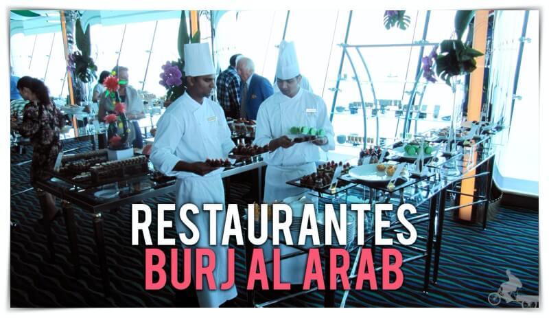 restaurantes del burj al arab
