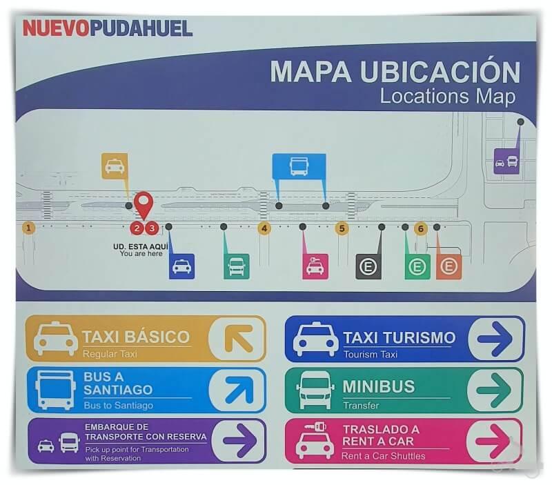 transportes aeropuerto Pudahuel